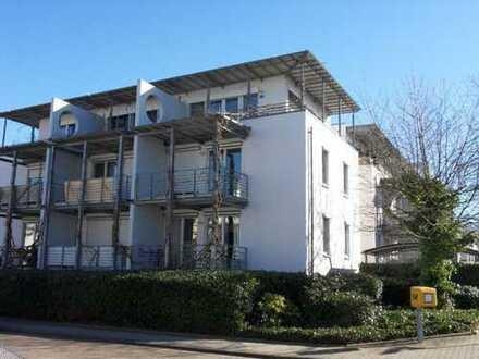 Schöne, vermietete 1,5 Zimmer Wohnung mit West- Balkon