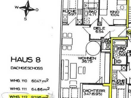3,5-Zimmer-Maisonette-Wohnung mit Balkon in Stadtbergen