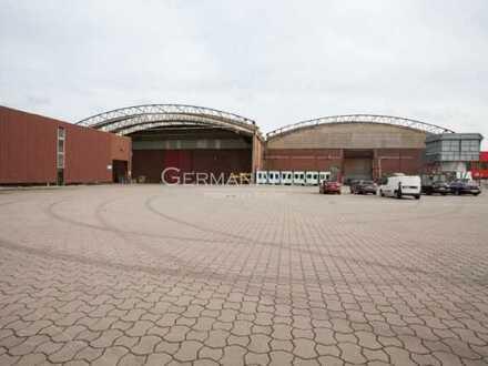 12.200 m² Halle (teilbar) | Kranbahnen | Freifläche