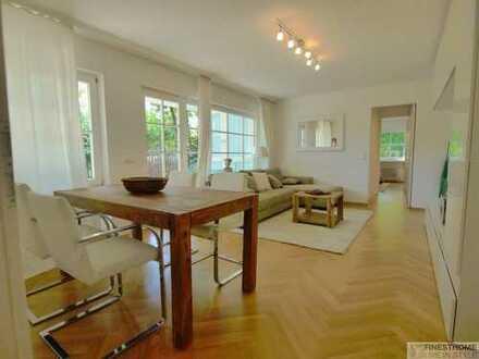 2 Zimmer Terrassenwohnung in Bogenhausen mit Garten