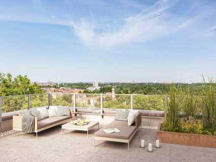 3-Zimmer-Penthouse mit zwei riesigen Dachterrassen in Thalkirchen in Fußweite zur Isar