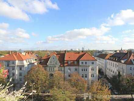 Best of Schwabing: Exklusives, möbliertes Appartement mit Ausblick bis zu den Alpen