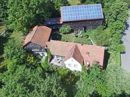 Natürlicher & exklusiver Lebens(t)raum mit ca. 6.816 m² Grundstück, Bauernhaus und Partyscheune!