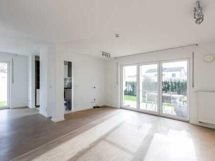 Moderne 3,5-Zimmer-Wohnung mit Garten