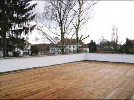 4 - Zimmer-Maisonettewohnung mit 85 m² Terrasse
