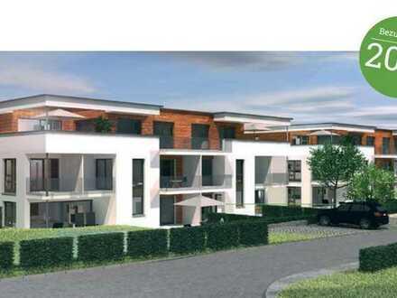 Sonniger Neubau Erstbezug 3-Zimmer 100qm Wohnung mit 120qm Garten in Mutlangen b. Schwäb.Gmünd