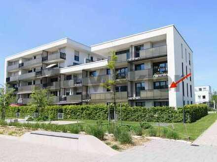 Modernes Wohnen in München: Helle 3-Zi.-ETW mit Balkon und TG-Stellplatz in Ramersdorf-Perlach