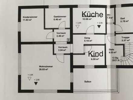 Schöne vier Zimmer Wohnung in Ostallgäu (Kreis), Neugablonz