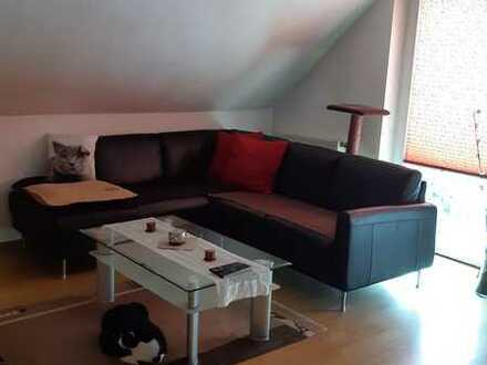 Ansprechende, gepflegte 2-Zimmer-DG-Wohnung zur Miete in Bad Orb