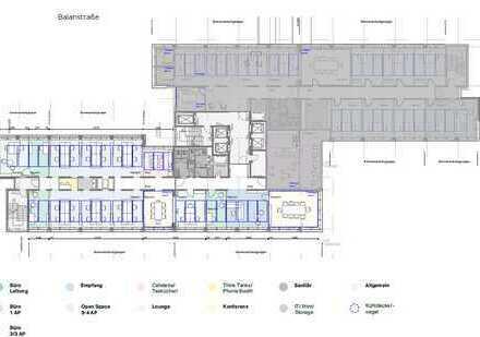 Neue und hochwertige Bürofläche im BALOON – Haidhausen