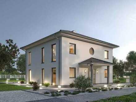 Bauen in Schermbeck - Mediterrane Großzügigkeit kombiniert mit moderne Architektur