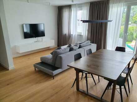 Doppelhaushelfte mit großem Garten 6 Zimmer in Bad Saarow 300m Fußweg zum SEE