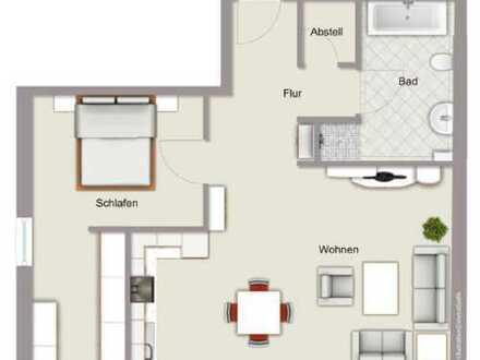 Neubau: helle 2-Zimmer-Wohnung in Wiesental