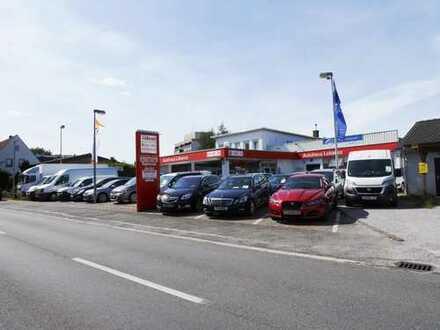 KFZ-Betrieb, Autohaus, Werkstatt,Büro und Wohnung