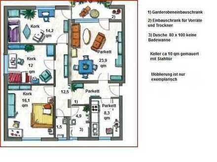 Helle 4 Zimmer Wohnung in Oberreut