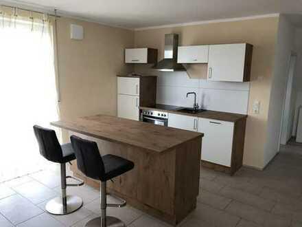 Neuwertige 2-Raum-Maisonette-Wohnung, möbiliert, in Kaisheim