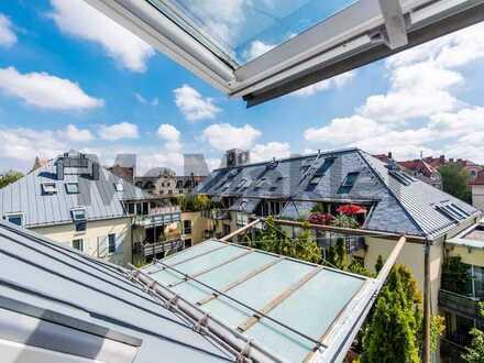 Verwirklichen Sie Ihren Lebenstraum - Außergewöhnliche Dachterrassen-Wohnung im Glockenbachviertel