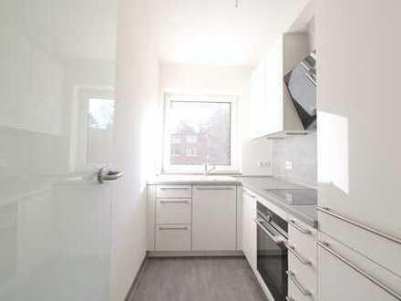 Helle sanierte 2-Zimmer-Wohnung mit moderner Küche und 2 Balkonen