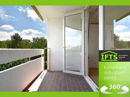 Eine sichere Entscheidung. Großzügige Wohnung, sehr gute Lage, helle Räume, Balkon, KFZ-Stellplatz