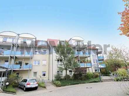 Schöne Seniorenwohnung oder Kapitalanlage: Helles, barrierefreies 1-Zi.-Apartment im Seniorenzentrum