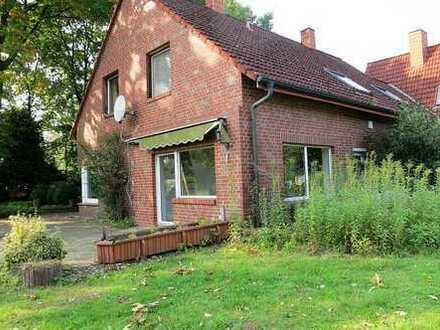 2 Zimmer-Erdgeschoss-Wohnung sehr ländlich gelegen!