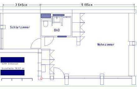 2 Zimmer-Wohnung am westlichen Stadtrand von München zu vermieten