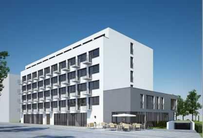 Augsburg, 1 ZKB App. möbliert, Balkon, Zentrum, FH