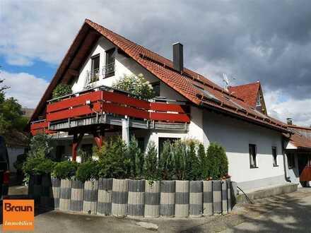 Attraktive 4,5-Zi.-ETW nebst ausgebauten Dachspeicher (mit ca. 36 m²) in Niedereschach-Fischbach
