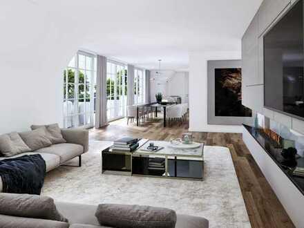 35 ASGARD Exklusive 4 Zimmer Dachterrassenwohnung in villenartigen Mehrfamilienhaus in Bogenhausen.