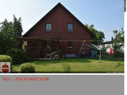 Verträumtes Einfamilienhaus auf großzügigem Grundstück in Malchow