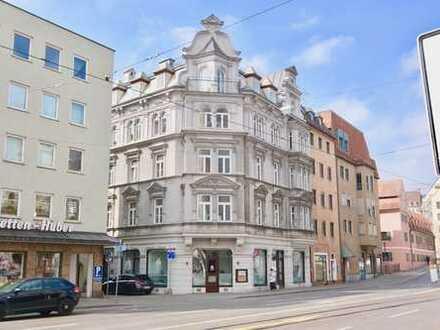 Top Denkmalgeschütztes Wohn- und Geschäftshaus in brillanter Lage (A+)
