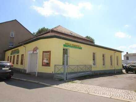 Interessantes Gewerbeobjekt mit großer Verkaufsfläche, Lager, Büro in guter Lage von Gera-Zwötzen