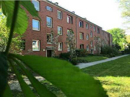 Frisch sanierte, top ausgestattete Wohnung in typisch norddeutschem Rotklinker