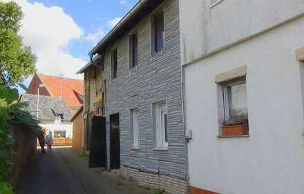 Bad Kreuznach/Guldental- Schnuckeliges Häuschen mit großer ausbaufähiger Scheune im urigen Ortskern