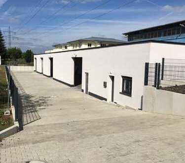 Elsenfeld - ideal gelegene Halle mit Grundstück, Büro und Außenbereich, Waschplatz