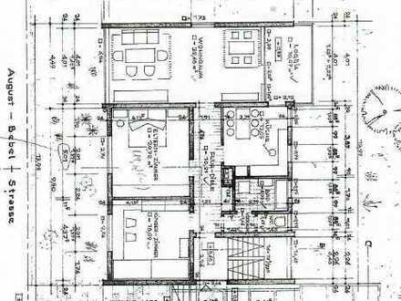 Erstbezug nach Sanierung mit EBK und Balkon: freundliche 3-Zimmer-Erdgeschosswohnung in Viernheim