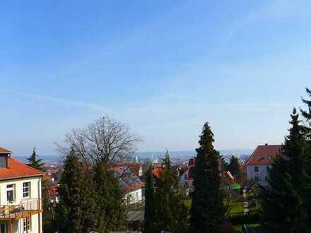 Sehr gepflegtes Haus mit herrlicher Sicht auf Dresden