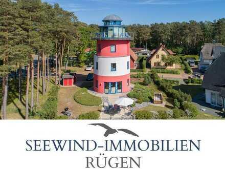 DER LEUCHTTURM - Ihr Ferienhaus der besonderen Art in Glowe auf Rügen