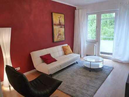Schöne möblierte 2,5 -Zimmer-Wo./2 Balkonen/ Inklusivmiete 1.350,00 €/ ab 01.11.2020 frei