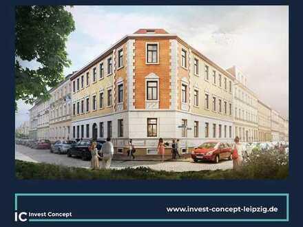 Optimal geschnittene Familienwohnung + Balkon + Bad mit Fenster + Gäste-Bad im Gründerzeithaus