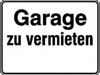 * Garage in Neustadt bei Coburg zu vermieten *