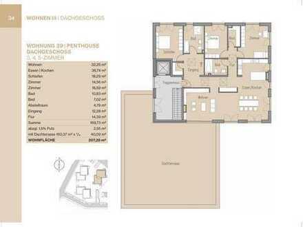 Penthousewohnung mit großer Terrasse und Lift (Whg 39)