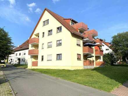 Niederlungwitz - Großes DG-Appartement mit Balkon und Stellpl. in ruhiger Wohnsiedlung