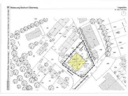 Großes Baugrundstück in zentraler Lage von Bochum im Bieterverfahren.