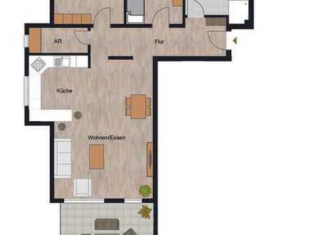 Herrliche 3-Zimmer Wohnung mit riesigem Garten und sonniger Terrasse!!!