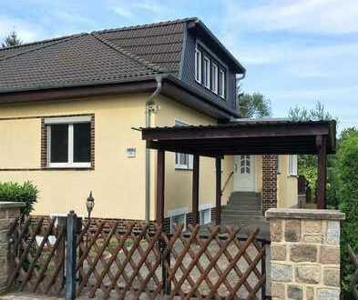 Charmante Doppelhaushälfte mit Einliegerwohnung zu verkaufen
