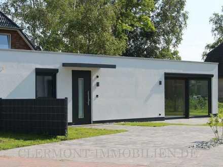 'Wohnpark Boddenblick' modernes und innovatives Modulhaus mit Terrasse u. Stellplatz