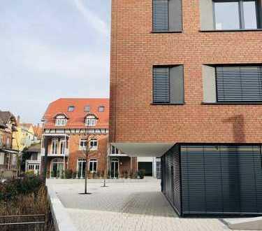 Neubau: zentrale Bürofläche im Erdgeschoss