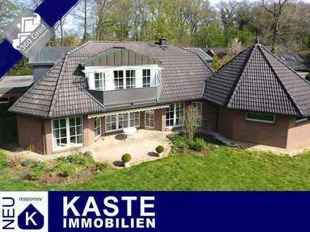 Landhausvilla mit Pool, Studio und sonnigem Süd/West-Parkgrundstück Isernhagen-Süd