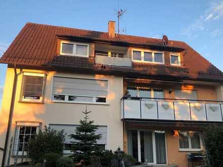 Gepflegte Wohnung mit vier Zimmern sowie Balkon und Einbauküche in Korb